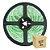 Fita Led Verde 5050 3 metros com Fonte/Carregador - À prova d'água - Imagem 1