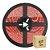 Fita Led Vermelha 3528 1 metro com Fonte/Carregador - À prova d'água - Imagem 1