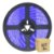 Fita LED Azul 5050 3 metros IP65 com Fonte - Imagem 1