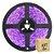 Fita LED Rosa 3528 2 metros com Fonte/Carregador IP65 - À prova d'água - Imagem 1