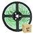 Fita Led Verde 3528 5 metros com Fonte/Carregador - À prova d'água - 24W - Imagem 1