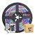 Fita Led RGB Colorida 3528 5 metros com Fonte/Carregador - 24W - Imagem 1