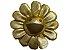 "!TAKASHI MURAKAMI x COMPLEXCON - Pin Flower Plush Pin ""Dourado"" -NOVO- - Imagem 1"