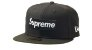 """SUPREME x NEW ERA - Boné No Camp Box Logo """"Preto"""" -NOVO- - Imagem 1"""