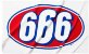 "SUPREME - Toalha 666 ""White"" - Imagem 1"