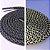 Cadarço Rope Refletivo - Preto e Cinza - 82 cm - Imagem 2