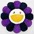 """ENCOMENDA - KAIKAI KIKI - Pelúcia Murakami Flower Cushion - 60CM """"Purple & White"""" - Imagem 1"""