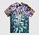 "OVO - Camiseta Tie Dye Arch ""Black/Purple"" - Imagem 1"