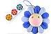 """!KAIKAI KIKI - Pin Takashi Murakami Flower Plush """"Azul"""" -NOVO- - Imagem 1"""