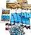 "!HEBRU BRAND - Quebra-Cabeça Flyboy Jigsaw ""Multi"" -NOVO- - Imagem 3"
