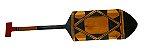 Remo de madeira decorativo - Tribo Mehinako - Imagem 1