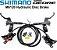 FREIO SHIMANO DEORE  - 2021 - BL-M6120 - 4 PISTOES  - Imagem 1