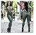 Calça Disco Verde Militar - Imagem 1