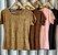 T-shirt em Suede - Imagem 1