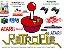 k13 - Retropie Pi 3 com 11 Consoles e 4000 Jogos + 2 Joysticks Play 2 Analógico com Cabo HDMI - Imagem 1
