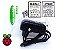 KIT COMPLETO - Raspberry Pi 3 + Cartão 32GB - Case ABS + Dissipadores + Fonte 3A + Cabo HDMI - Imagem 5