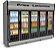 Expositor Refrigerado Vertical de Auto Serviço 5 Portas E AS-5/E Conservex - Imagem 1