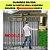 Portão Correr Grade Superior Com Social Acoplado - Imagem 5