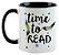 Caneca - Bookstagram - Time to Read - Imagem 1