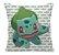 Almofada - Pokemon Bulbasaur - Imagem 1
