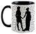 Caneca - Mr. Darcy e Elizabeth - Jane Austem - Imagem 1
