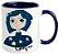 Caneca - Coraline - Blue - Imagem 2