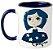 Caneca - Coraline - Blue - Imagem 1
