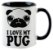 Caneca - Eu amo meu Pug - Imagem 2