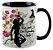Caneca - A corte de espinhos e Rosas -Silhueta - Imagem 2