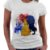 Camiseta Feminina - A Bela e a Fera - Silhuetas - Imagem 1