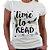 Camiseta Feminina - Time to Read - Imagem 1
