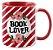 Caneca - Bookstagram  - book Lover -Red - Imagem 2