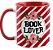Caneca - Bookstagram  - book Lover -Red - Imagem 1