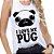 Regata - I love my pug - Imagem 1