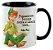 Caneca - Peter Pan - Pensamentos felizes fazem a gente voar - Imagem 2