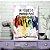 Quadro MDF - Bookstagram - Já viajei o Mundo - Imagem 1
