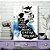 Quadro MDF - Bookstagram - Livros são um Portal - Imagem 1