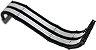 Cabo Sleeved Rise mode Black And White Rm-Sl-01-Bw - Imagem 4