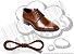 Cadarço de Sapato Marrom Encerado Redondo Pol 70cm (Par) - Imagem 1