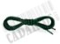 Cadarço de Tênis Pontilhado Preto e Verde Oval Pol 120cm (Par) - Imagem 3