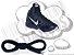 Cadarço de Tênis Basquete Azul Escuro Redondo Pol 180cm (Par) - Imagem 1