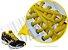 Cadarço de Tênis Amarelo Oval Pol (Par) - Imagem 2