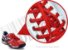 Cadarço de Tênis Vermelho Oval Pol (Par) - Imagem 2