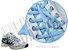 Cadarço de Tênis Azul Bebê Oval Pol (Par) - Imagem 2