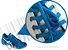 Cadarço de Tênis Azul Royal Oval Pol (Par) - Imagem 2