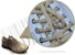 Cadarço de Tênis Bege Oval Pol (Par) - Imagem 2