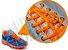 Cadarço de Tênis Laranja Fluorescente Oval Pol (Par) - Imagem 2