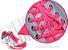 Cadarço de Tênis Rosa Fluorescente Oval Pol (Par) - Imagem 2