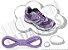 Cadarço de Tênis Lilás Roxo Claro Oval Pol (Par) - Imagem 1