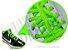 Cadarço de Tênis Verde Fluorescente Oval Pol (Par) - Imagem 2